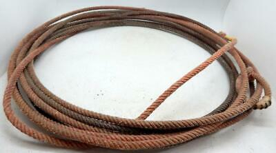 Lariat Rope Speed Burners 3 Piece Lot White Cactus Ropes New Free Ship