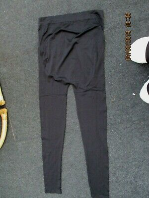 """new look"" maternity leggings black size medium"