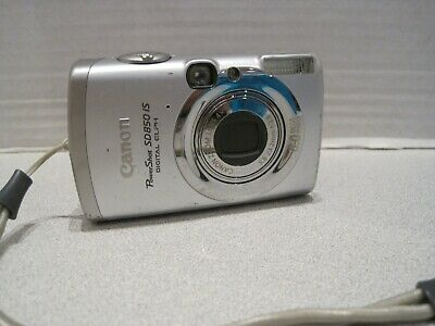 Canon PowerShot SD850 IS Digital ELPH 8 MP Camera+ 1GB