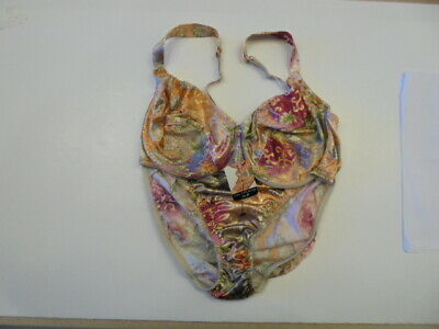 Vintage Victoria's Secret Second Skin Satin Bikini Panty and Bra Set
