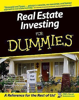 used real estate investing for dummies book