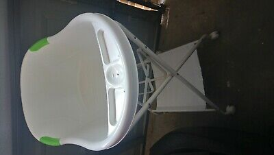 Baby bath with stand, baby high chair