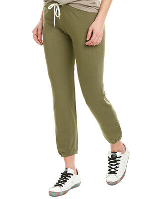 Monrow Supersoft Vintage Pant Women's Green Xs