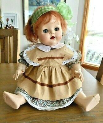 Vintage Pedigree 50's doll made in England 20""
