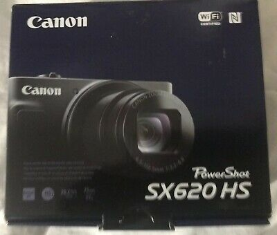 Canon PowerShot SX620 HS 20.2MP 25X Zoom RED Camera With Built in WiFi