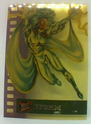 Fleer Ultra X-Men (1995) Suspended Animation Chase Card #9 - Storm