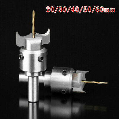 Wood Ball Milling Cutter Router Drill Bit Woodwork Tool Kit Lucky Buckle Beads