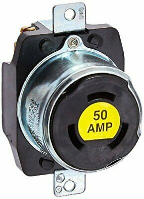 Hubbell HBL7379 Locking Receptacle, 3 Pole and 4 Wire, 50 amp, 250VDC/600VAC,