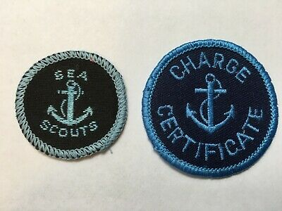 Australia. Sea Scouts 1960 'Anchor' Badge & Scouts 1980 Charge Certificate Badge
