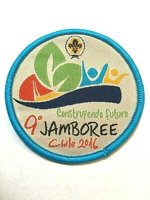 CHILE. 9th NATIONAL SCOUT JAMBOREE, 2019. OFFICIAL BADGE.