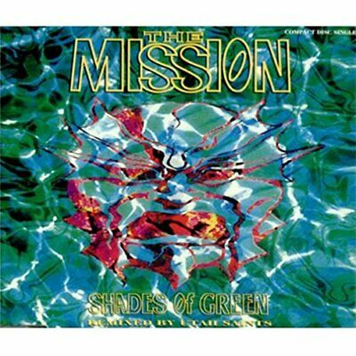 The Mission - Shades of Green - The Mission CD 6YVG FREE Shipping