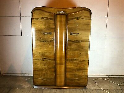 Vintage 1960's Supersuite Double Wardrobe with Swivel Front