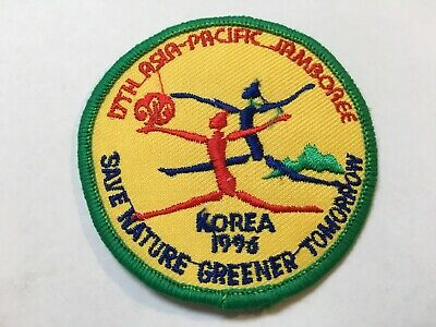 South Korea. 17Th Asia-Pacific / National Jamboree Scout Badge, 1996.