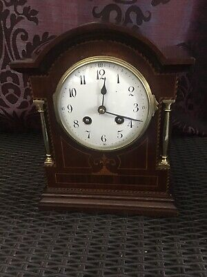 A Stunning French Striking Mantel Clock By Japy Freres