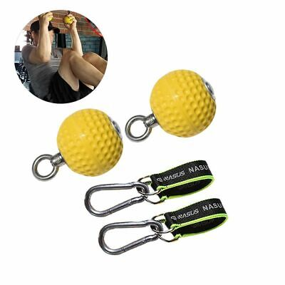 Pull-Ups Balls For Hands 7,2/9,7MM Wooden Hand Grips Gym Home Workout Equipment