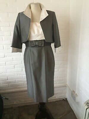 PRESEN De Luxe Silk Dress And Jacket RRP £995.00 UK Size 8