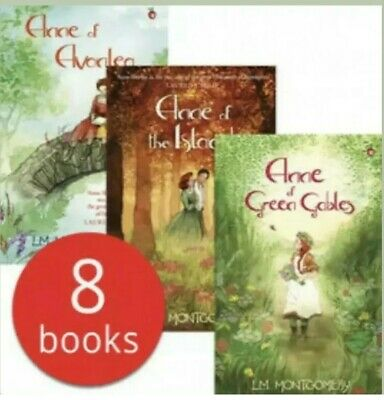 Complete Anne of Green Gables Collection - 8 Books Set SALE Rrp £ 69.99 Kids