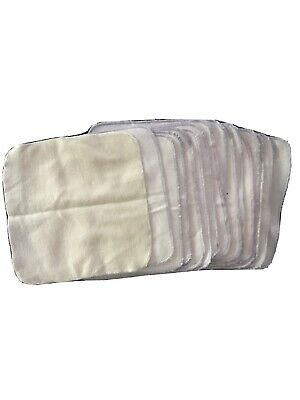 Flannel Wipes Washcloths For Baby Infant Toddler Cloth Diapers Set Of 16 Cotton