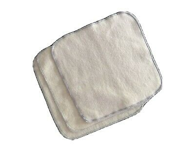 Organic Hemp Cotton Baby Infant Toddler Washcloths Wipes For Cloth Diapers