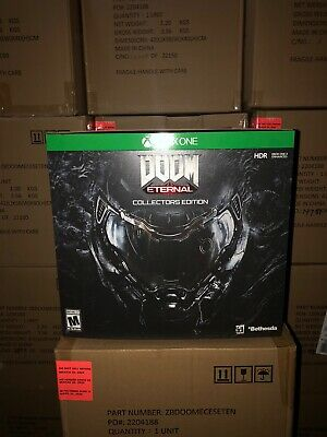 Brand New, Sealed Doom Eternal Collector's Edition for Xbox One - IN HAND