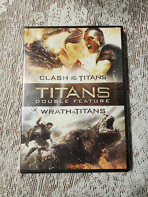 Clash of the Titans/Wrath of the Titans (DVD, 2015, 2-Disc Set) NEW - Sealed