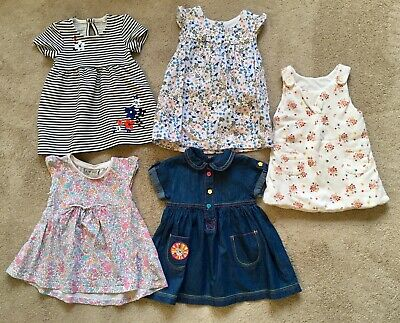 Bundle Of Baby Girl Dresses, 3-6 Months Including TU, M&S, Mothercare, Next