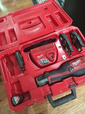 Milwaukee M12 2473-20 Force Logic Cordless Press Tool Kit (3 Jaws Included)