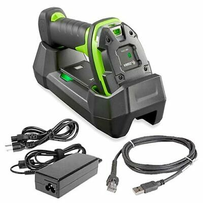 NEW Zebra Barcode Scanner Kit Rugged DS3678-HP2 Bluetooth Cordless 2D/1D