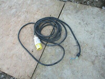 110V 32A Electrical Plug & 25Ft Cable Lead Wire