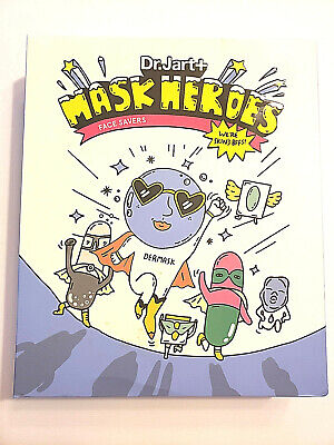 DR. JART+ Mask Heroes Face Savers: BOX OF 6 FAVORITE DR JART MASKS-FREE SHIPPING