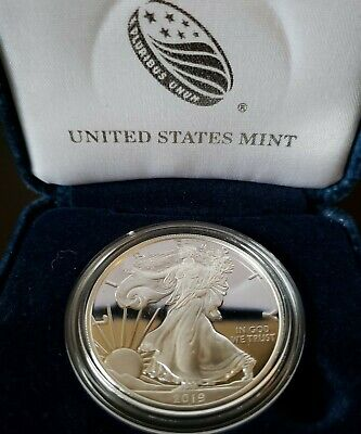 2019-S American Eagle One Ounce Silver Proof Coin