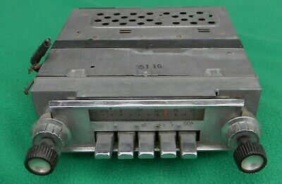 1963 1964 Ford Galaxie 500 AM Push Button Car Radio FoMoCo  4TMF