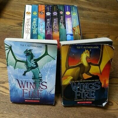 Wings of Fire Boxed Set of Eight Books + BONUS Books 9 & 10 included