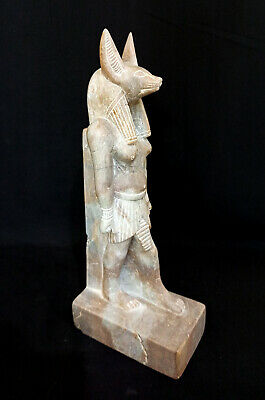 Anubis Egyptian God Dead Hieroglyph Antiquities Ancient king Tut Ornament Statue