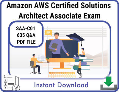 Amazon AWS Certified Solutions Architect Associate Exam, 635 Q&A, PDF FILE! NEW