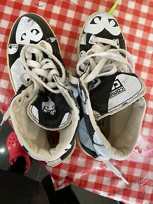 Boys Girls Trainers/Converse Designer By PLay Commo De Garcons