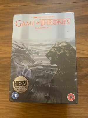 BRAND NEW SEALED Game Of Thrones Complete Season 1-7 Dvd *Bargain*