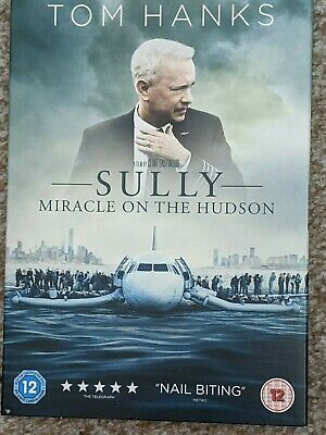 Sully Miracle on the Hudson DVD New sealed including slip case Freepost