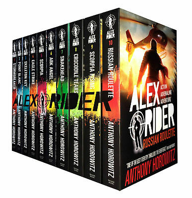 Alex Rider series Anthony Horowitz collection 10 books box set NEW