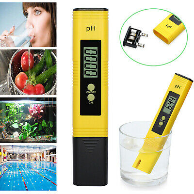 LCD Digital Electric PH Meter Tester Pocket Hydroponics Aquarium Water Test Pen