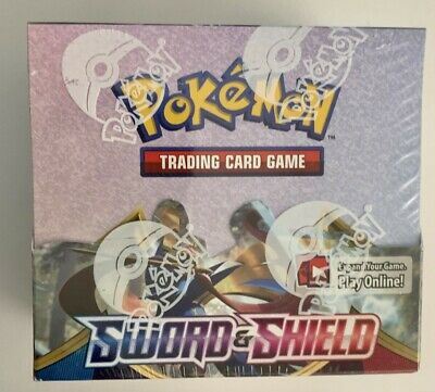 Pokemon TCG SWORD and SHIELD 36 ct BOOSTER BOX Factory Sealed