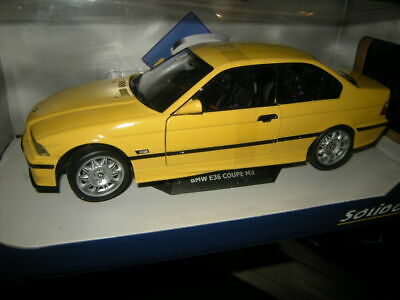 1:18 Solido BMW M3 E36 Coupe yellow/gelb Jaune Dakar 1994 Nr. S1803902 in OVP