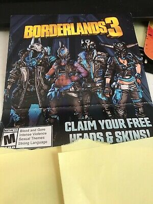 Pax East 2020 Borderlands 3 Heads and Skins