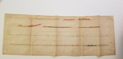 1852 Owen map sections on the Mississippi, St. Peters, Red Wood