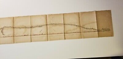 1852 Owen Map North Shore Lake Superior Fond du Lac to Pigeon Point
