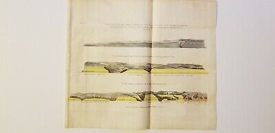 2 geology maps Owen 1852 Lake St. Croix-Dalles, Mississippi to St. Anthony Falls