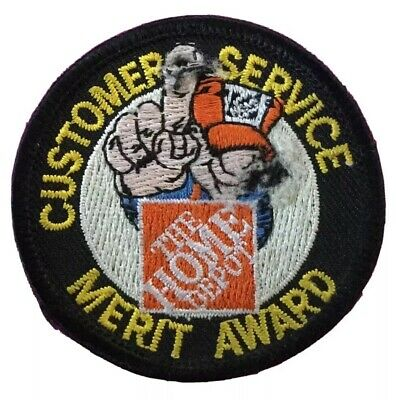 The Home Depot Apron CHIVE Superpower Crown Sticker patch, pin, swag, badge