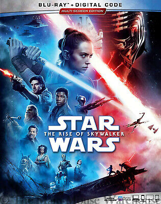 New Star Wars 9 IX The Rise of Skywalker Blu-ray and Digital Copy with Slipcover