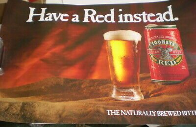 Poster - Tooheys Red Beer - Have a red instead