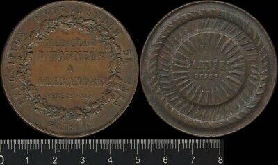 France: 1855 Exposition Paris, Medal of Honour to Alexandre Father & Son medal